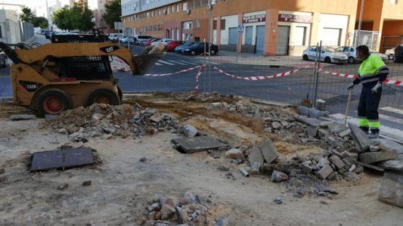 La ciudad emprende 69 obras de mantenimiento durante el mes de junio