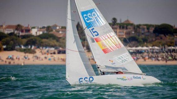 Arturo Montes de queda a un pasito del podio en el Campeonato del Mundo de la clase 2.4