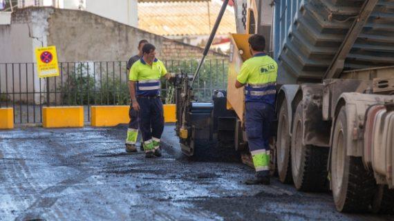 Adelanto en las obras de asfaltado esta semana para reducir molestias