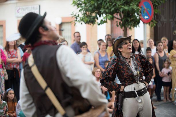 El programa 'Atrévete' vuelve a tomar las calles y plazas de Niebla