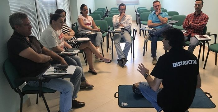 La Comunidad de Regantes Palos de la Frontera se convierte en un espacio cardioprotegido