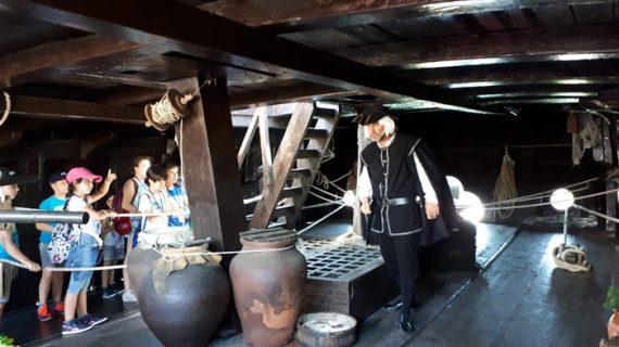 El campamento '25 aniversario' muestra a los jóvenes la historia, cultura y naturaleza de los lugares Colombinos