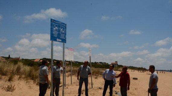 Habilitadas dos nuevas zonas de playas para mascotas en Mazagón