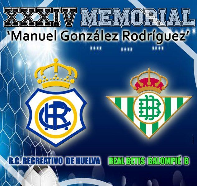 El Betis B será el rival del Recre en el Memorial Manuel González Rodríguez
