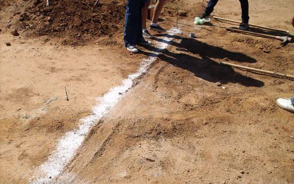 Encuentran unos misteriosos depósitos de un polvo blanco en el Cabezo de la Joya