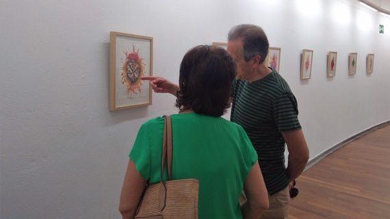 Isla Cristina acoge la Exposición 'Corazón' de Luís de Pura