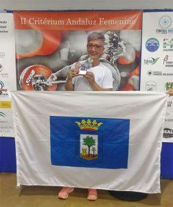Meritorio cuarto puesto de Eva López en el torneo celebrado en Sanlúcar de Barrameda.