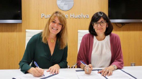 Autoridad Portuaria de Huelva y Universidad de Huelva firman un convenio de prácticas relacionado con el ámbito portuario