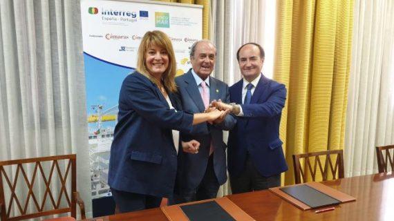 Focomar sella un acuerdo de colaboración entre los dos grandes puertos andaluces: Huelva y Algeciras