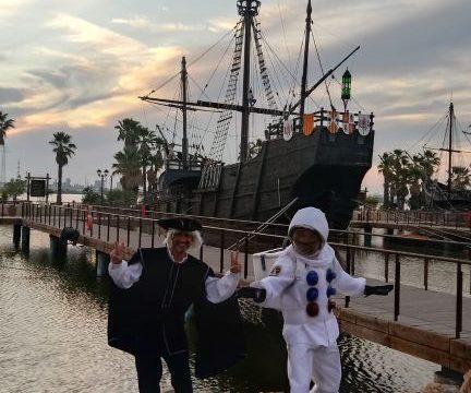 'Las Estrellas de Colón' conmemoran este verano en el Muelle los 50 años de la llegada del hombre a la Luna