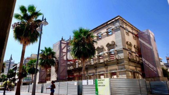 La Junta finaliza los trabajos de protección de las medianeras del Edificio de Hacienda