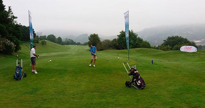 La provincia de Huelva muestra sus atractivos para los jugadores de golf en San Sebastián