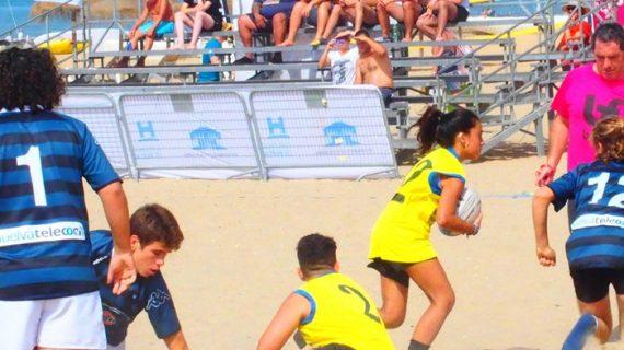 La calidad y la diversión vuelven a copar el Rugby Playa en Punta Umbría
