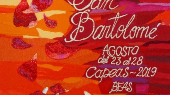 Anuncian el cartel de las Fiestas en Honor de San Bartolomé en el municipio de Beas