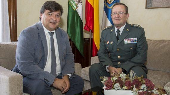 Andrés López García llega como nuevo coronel jefe de la Comandancia de la Guardia Civil