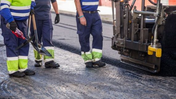 Las obras de Asfaltado se centrarán la semana próxima en las avenidas Federico Molina y Nuevo Colombino