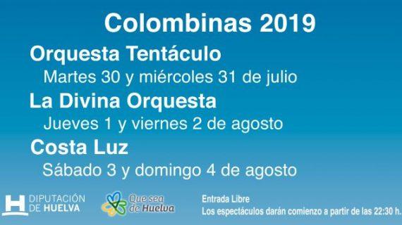 La Caseta de la Diputación de Huelva en las Colombinas 2019 abre el martes sus puertas a toda la provincia
