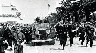 Desaparece de una chabola una caja con documentos, fotos y un palillo de dientes que pudo usar el dictador en su visita a Huelva en 1967