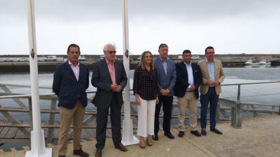 Los Puertos de Mazagón, Ayamonte y Marina Isla Canela ya lucen la Bandera Azul