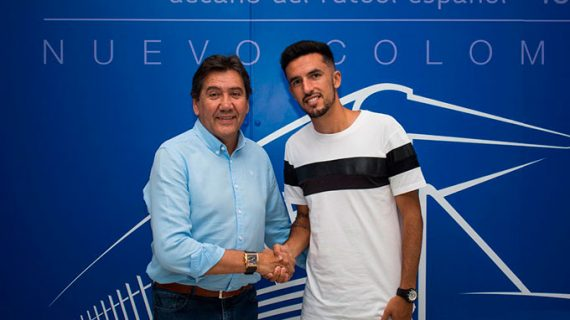 Alberto Quiles seguirá en el Recreativo de Huelva ahora como jugador en propiedad