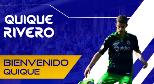 Quique Rivero, nuevo jugador del Recreativo de Huelva