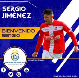 Sergio Jiménez reforzará el centro del campo en la temporada 2019-20. / Foto: @recreoficial.