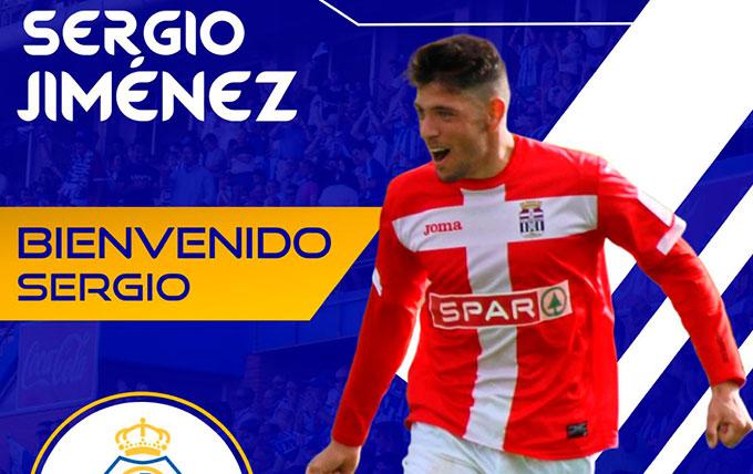 El centrocampista Sergio Jiménez, segundo fichaje del Recre para el proyecto 2019-20
