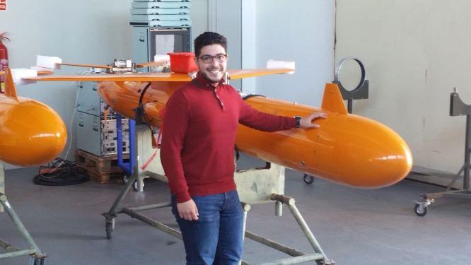 El alumno de la UHU, Adrián Zafra, finalista en los Premios de Innovación y Transformación en Economía Circular