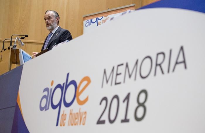 AIQBE ostenta la quinta parte de la producción industrial en Andalucía en 2018