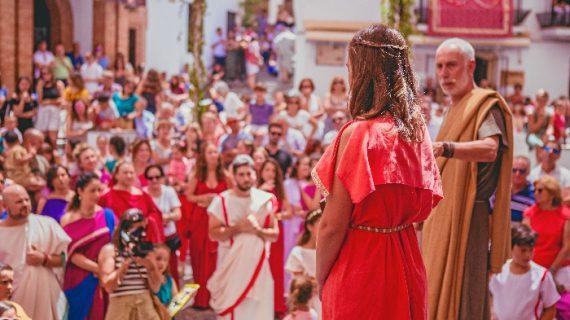 Aroche rememora su pasado romano con el Festival de Diana
