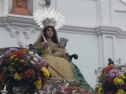 La Virgen de Clarines llega a Beas para su Romería