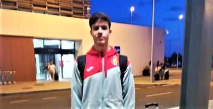 El moguereño Daniel Serrano regresa a España tras obtener el 7º puesto con España en el Europeo de Balonmano