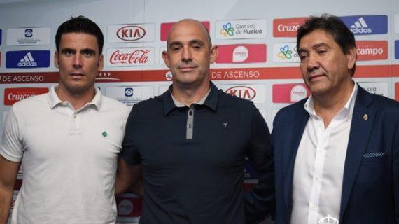 Alberto Monteagudo es presentado oficialmente como nuevo entrenador del Recreativo