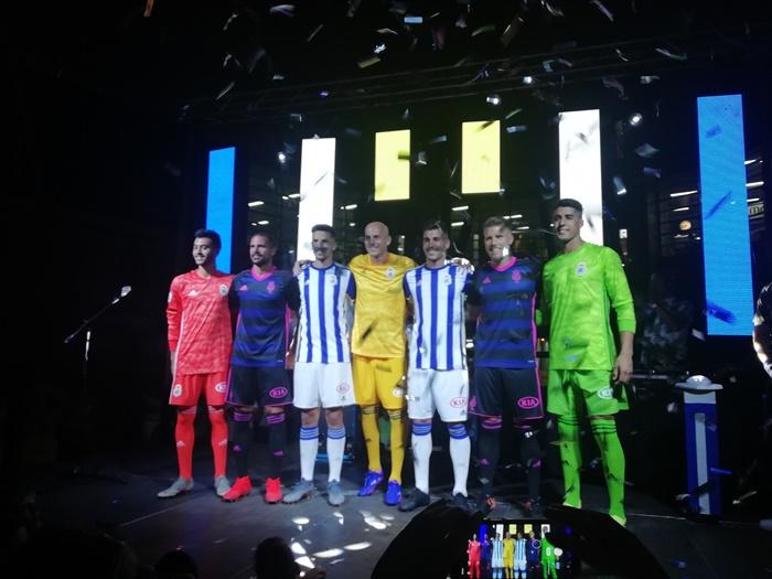 El Recreativo de Huelva presenta su nueva equipación para la próxima temporada