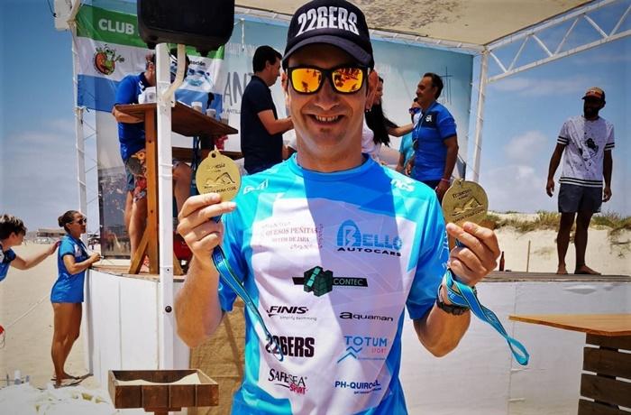 Rubén Gutiérrez, vencedor de la V Travesía Santa Pura – La Antilla de 1.500 metros
