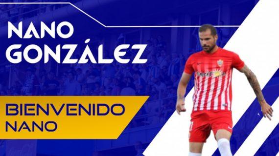 Nano González, nuevo jugador del Decano