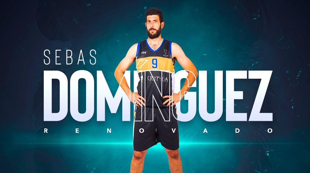 Sebas Domínguez renueva con el CDB Enrique Benítez