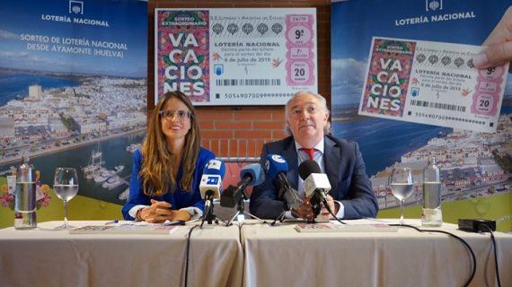 Gran expectación en Ayamonte ante la celebración del Sorteo Extraordinario de Vacaciones de Lotería Nacional