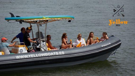 Una travesía en barco para disfrutar de la costa de la luz desde El Rompido o Sanlúcar de Guadiana