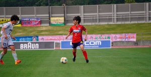 """Yoko Tanaka llega a Huelva con ganas de """"darlo todo"""" en el nuevo proyecto del Sporting."""