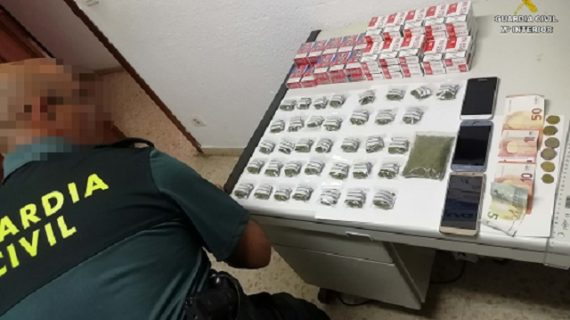 Detenidos dos varones en operativos contra el tráfico de droga en Palos de la Frontera y Punta Umbría