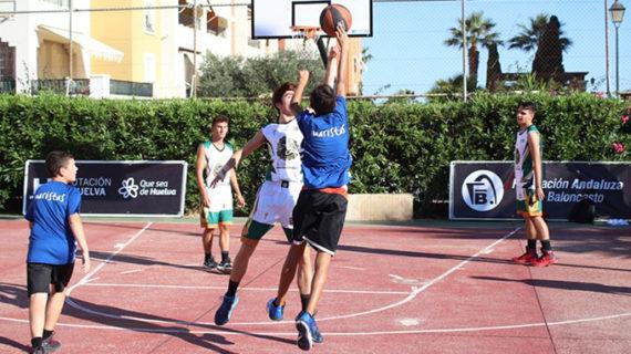 Gibraleón y La Palma del Condado ponen el broche de oro al Circuito 3×3 de baloncesto de la Diputación