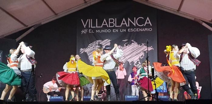 Villablanca cierra este viernes su 40 Festival Internacional de Danzas
