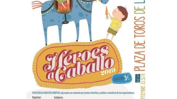 'Héroes a caballo', una iniciativa solidaria que llegará el próximo 6 de septiembre a la plaza de toros de la Merced