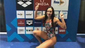 Alba Vázquez, protagonista de un gran Mundial Junior de Natación.