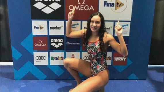 Alba Vázquez cierra el Campeonato del Mundo Junior de Natación con un oro, una plata 'dorada'