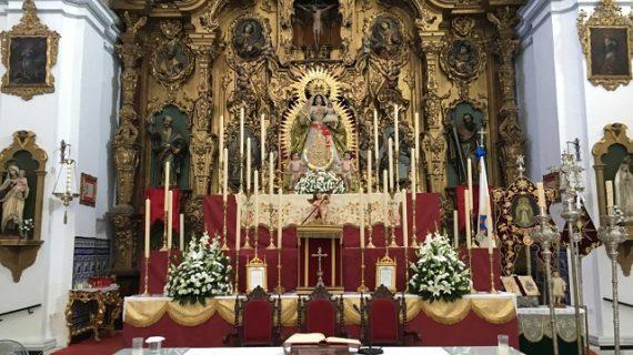 Celebración de los cultos que la Hermandad Sacramental y el pueblo de Chucena en honor de su patrona, la Santísima Virgen de la Estrella