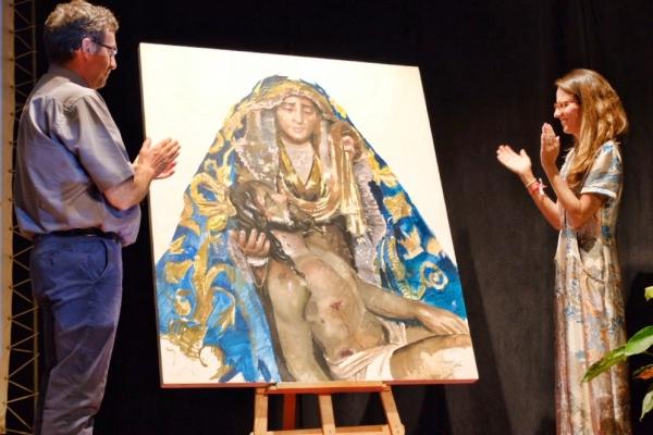 Presentado el Cartel del Día de la Virgen por la Hermandad de las Angustias de Ayamonte