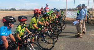 El Homenaje Ángel Camacho Salazar en Bollullos, penúltima prueba del Circuito Provincial de Huelva de Carretera.