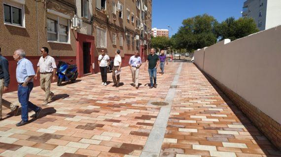Finalizada la rehabilitación de la Calle Camelia en El Torrejón